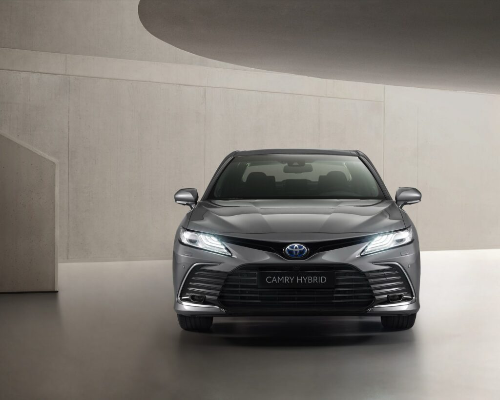 2021 toyota camry undergoes facelift inside and out with